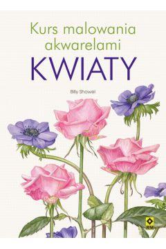 Kurs malowania akwarelami - Kwiaty RM