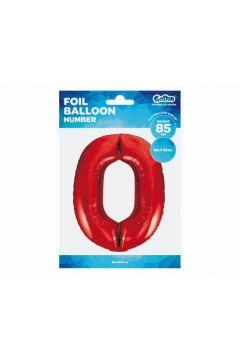 Balon foliowy Cyfra 0 85 cm BC-HCW0