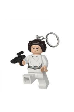 Brelok do kluczy z latarką Księżniczka Leia z blasterem