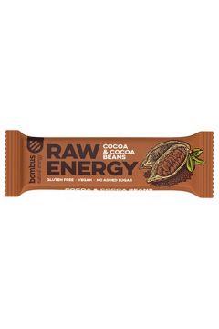 Baton Raw Energy z ziarnami kakaowca bezglutenowy
