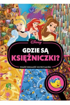 Gdzie są księżniczki? Szukaj i znajdź. Disney