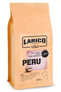 Kawa ziarnista wypalana metodą tradycyjną Peru