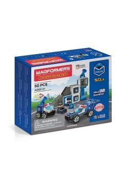 Magformers Zestaw policyjny 50 elementów