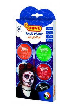 Zestaw do malowania twarzy Halloween JOVI