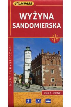 Mapa turystyczna - Wyżyna Sandomierska 1:75 000