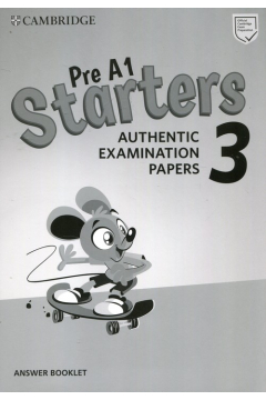 Pre A1 Starters 3 Answer Booklet