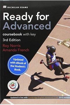 Ready for Advanced 3rd ed. Coursebook+eBook z kl.