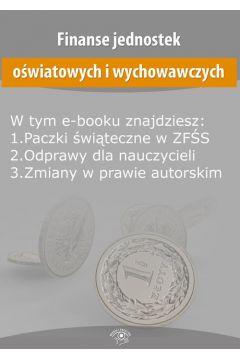 Finanse jednostek oświatowych i wychowawczych, wydanie styczeń 2016 r.