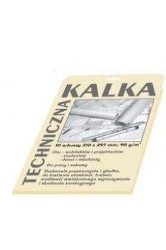 Kalka techniczna A4/10K 90g