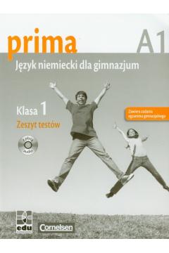 Prima 1 Język niemiecki A1 Zeszyt testów z płytą CD