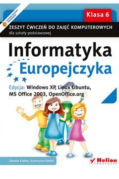 Informatyka Europ.WINDOWS XP..ćw.do zajęć.. SP +CD HELION