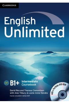 English Unlimited Intermediate Coursebook + e-Portfolio