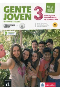 Gente Joven 3 Nueva Edicion podr. wieloletni + CD