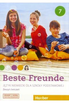 Beste Freunde 7. Język niemiecki. Zeszyt ćwiczeń. Szkoła podstawowa