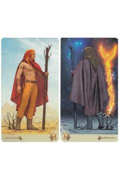 Vice Versa Tarot, karty dwustronne