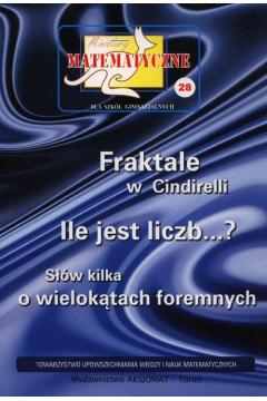 Miniatury matematyczne 28 Fraktale w Cindirelli
