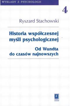 Historia współczesnej myśli psychologicznej Tom 4
