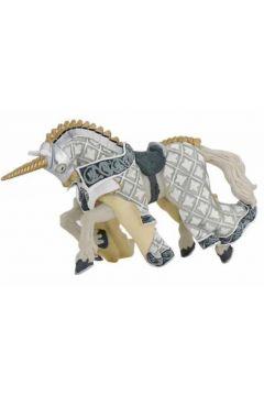 Koń Mistrza broni z czubem jednorożca