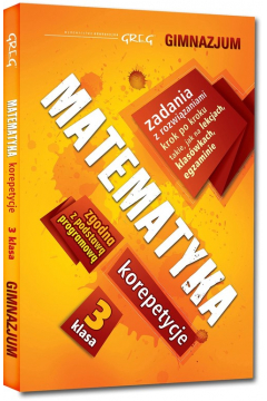 Matematyka - korepetycje - Gimnazjum 3