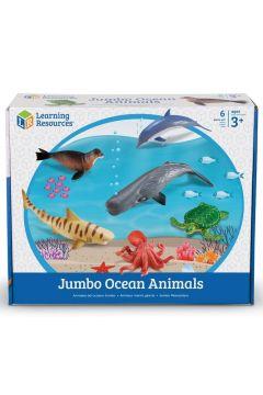 Duże Figurki. Zwierzęta, Ocean. Zestaw 6 szt.