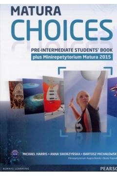 Matura Choices Pre-Intermediate SB OOP