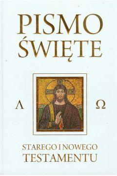 Pismo Święte Starego i Nowego Testamentu białe
