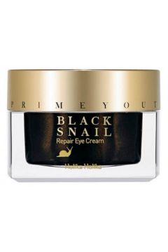 Prime Youth Black Snail Repair Eye Cream przeciwzmarszczkowy krem pod oczy ze śluzem ślimaka