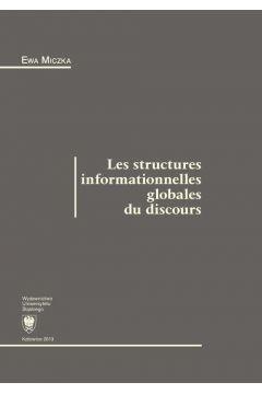 Les structures informationnelles globales du discours