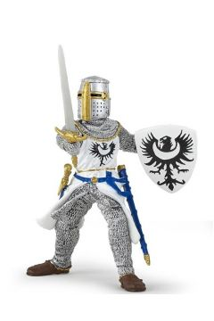 Rycerz biały z mieczem