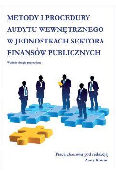 Metody i procedury audytu wewnętrznego w jednostkach sektora finansów publicznych