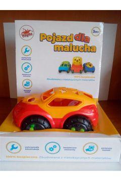 Pojazd dla malucha czerwony 1