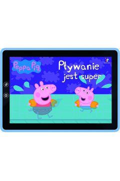 Peppa Pig Pływanie jest super Książeczki bajeczki