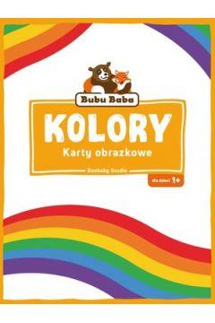 Bubu Baba Karty obrazkowe Kolory i kształty