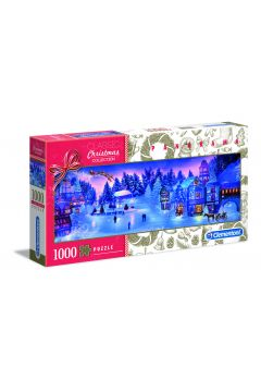 Puzzle panoramiczne 1000 el. Kolekcja świąteczna