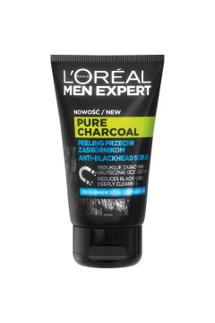 Men Expert peeling przeciw zaskórnikom Pure Power Charcoal