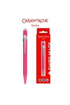 Długopis CARAN DACHE 849 Gift Box Fluo Line Pink różowy