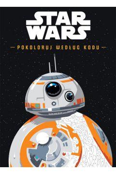 Star Wars. Pokoloruj według kodu