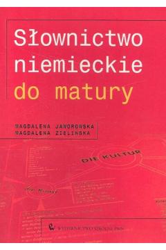 Słownictwo niemieckie do matury