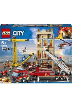 Straż pożarna w śródmieściu 60216