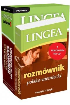 Rozmównik polsko-niemiecki + Lexicon CD Lingea