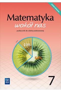 Matematyka wokół nas SP 7 podr. 2020 WSIP