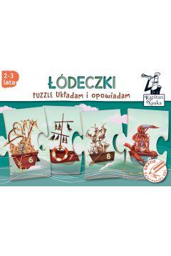 Kapita Nauka Puzzle Układam i opowiadam Łódeczki