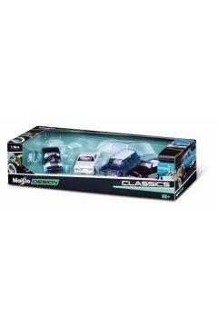 MI 11246-47 Design auta 1:64 4-pack Classics