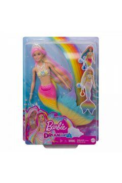 Barbie Dreamtopia. Syrenka tęczowa przemiana