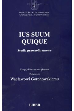 Ius Suum Quique Studia prawnofinansowe