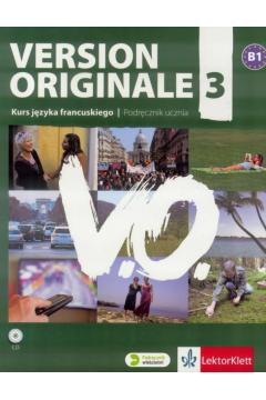Version Originale 3 podręcznik wieloletni + CD