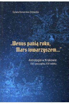 Wenus panią roku Mars towarzyszem