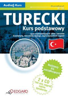 Turecki - kurs podstawowy (Audio Kurs)  EDGARD