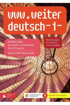 www.weiter deutsch 1. Podręcznik do języka niemieckiego. Gimnazjum