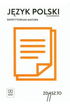 Repetytorium matura 2020. Język polski ZR WSiP